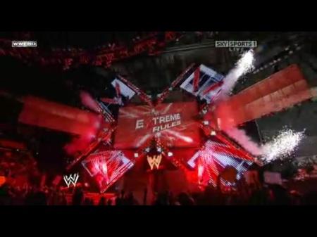 Fogos para o Extreme Rules!