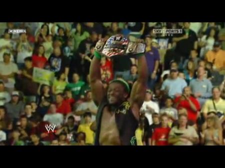 Kofi Kingston o jamaicano campeão americano!