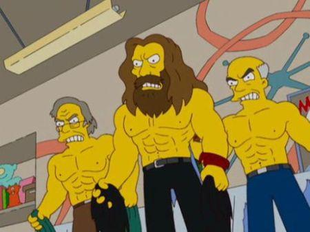 Alan Moore e o time de bookers da WWE!