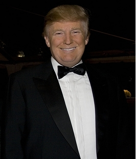 Donald John Trump. Acredita que ele tem 63 anos?!?