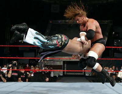 O golpe fatal de Triple H