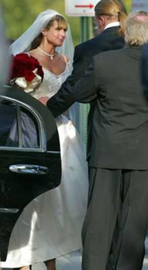 O casamento de Triple H e Stephanie