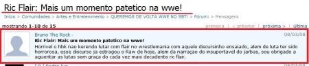 Ric Flair e seus momentos patéticos!