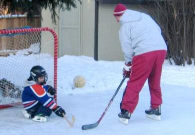 Foi assim que Gretzky começou